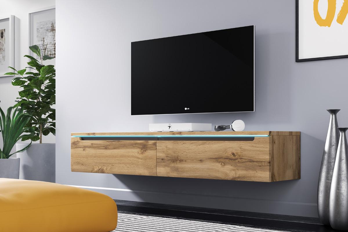 Meuble Tv En Coin swift meuble tv led 140 cm