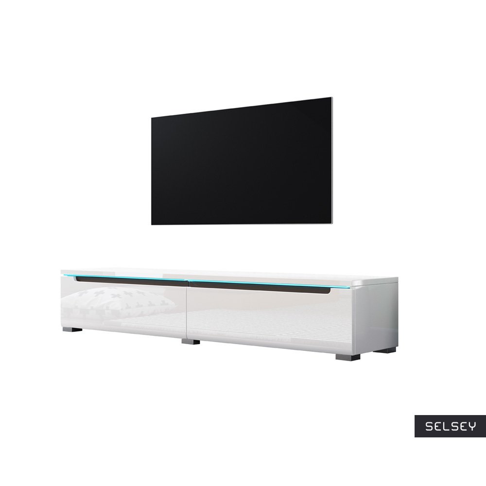 SWIFT Meuble TV LED 140 cm