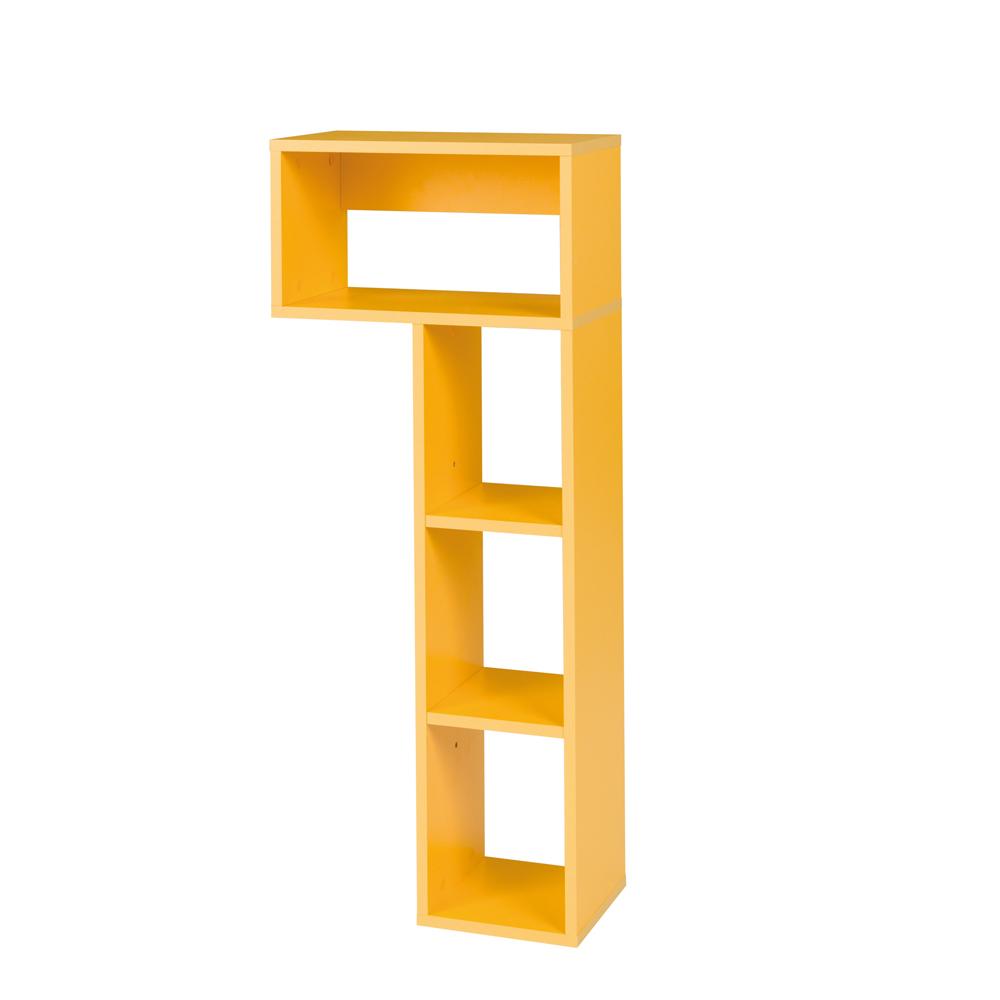 JALIME Bibliothèque à combiner jaune