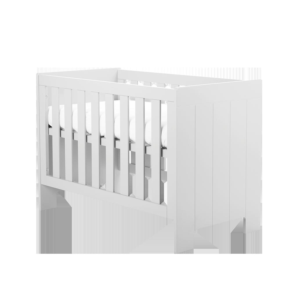 CALMO Lit bébé 60x120 cm blanc