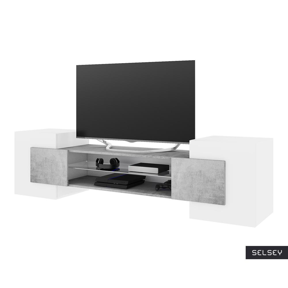CHARLES Meuble TV 160 cm moderne
