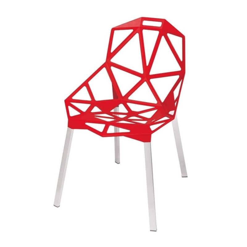 GAP Chaise Design Rouge