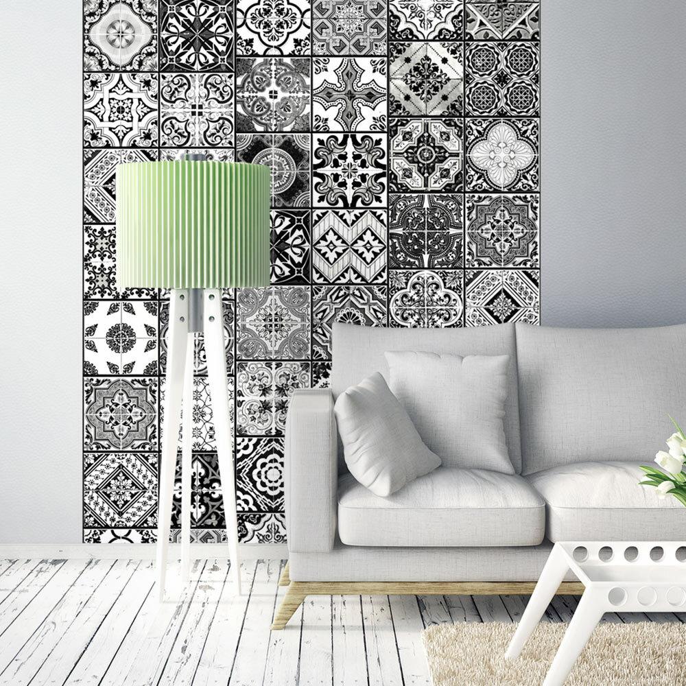Blanc Papier Rouleau En Peint Arabesque Noir Et Tl3u1JKcF