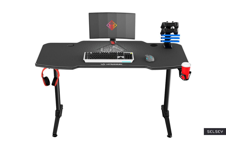 Bureau gamer GAMORA 140 cm choix des couleurs style moderne