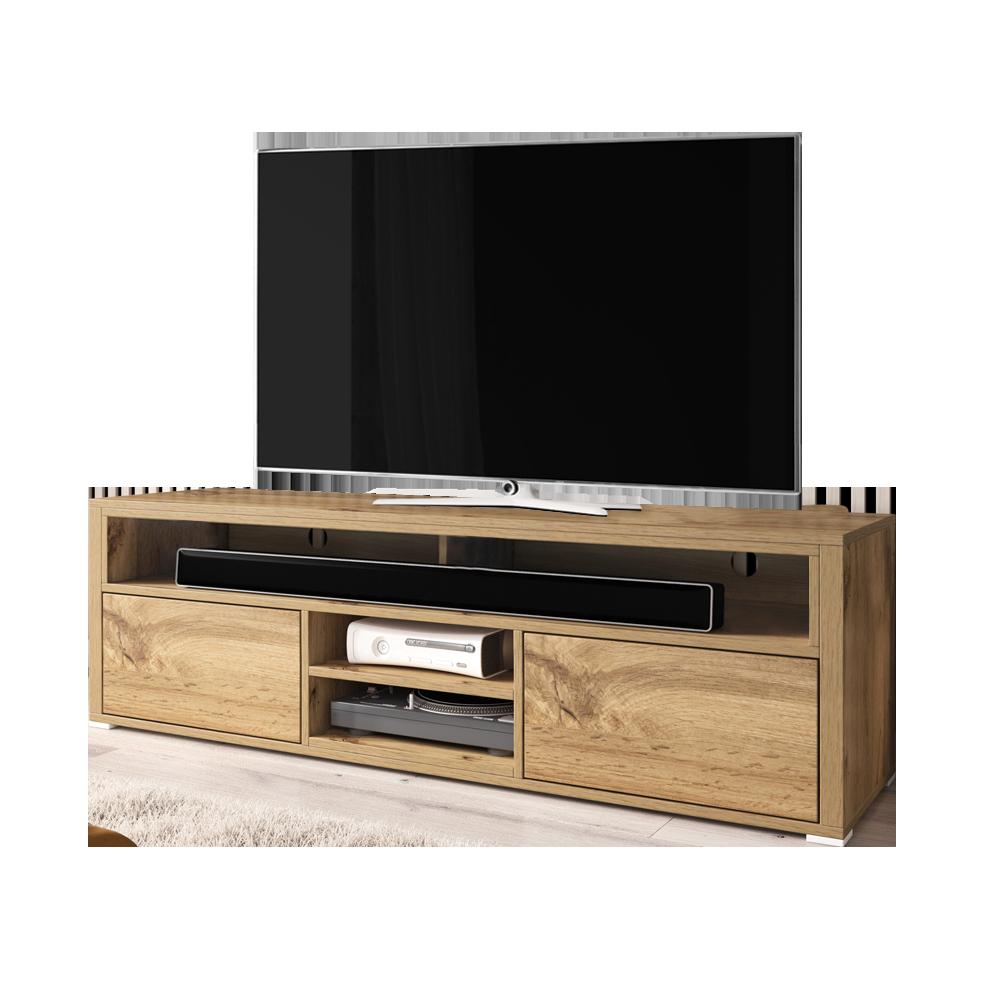 Meuble Tv Angle Bas mario meuble tv moderne