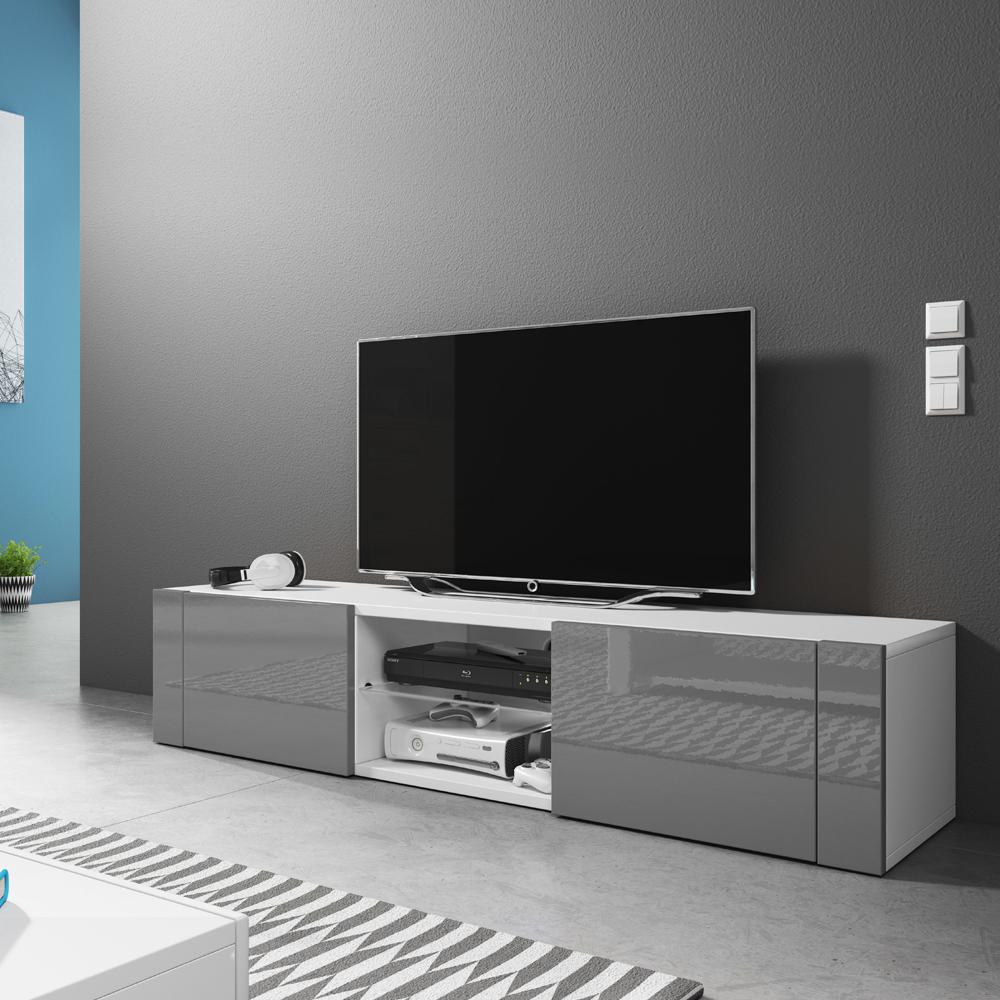 Meuble Tv Grande Taille ÉlÉgant meuble tv 140 cm - selsey