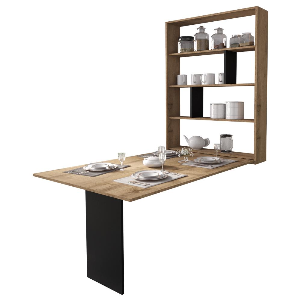 ESPIGO Table pilante 130x80 cm chêne wotan