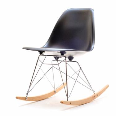 MPA ROC Chaise à bascule noir