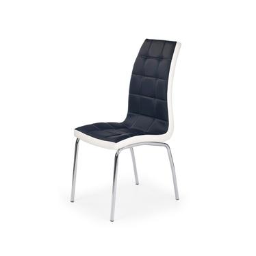 Krzesło Salta czarno-białe