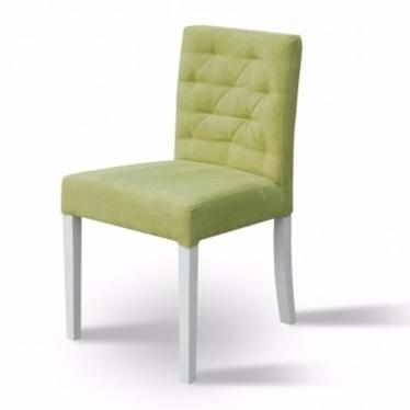 UNO Chaise tissu matelassé