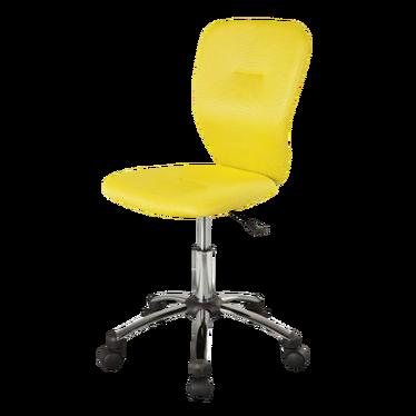 ESQUIMO Chaise de bureau jaune avec dossier ergonomique
