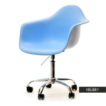 MPA MOVE Chaise pivotante design bleu