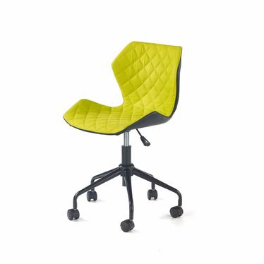 CALL Chaise de bureau enfant noir / vert