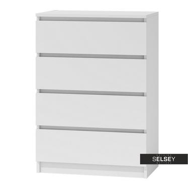 CLINO Commode 4 tiroirs style minimaliste