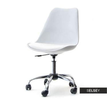 LOUIS MOVE Chaise de bureau blanc