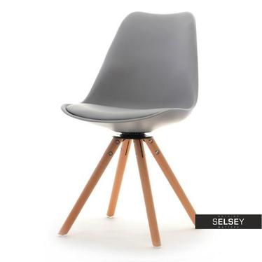 LUIS ROT Chaise pivotante grise