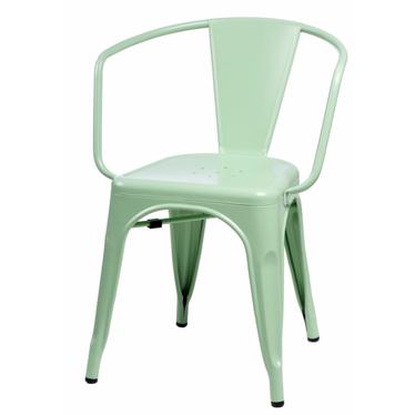 PARIS ARMS Chaise en métal verte
