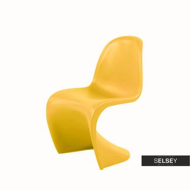 BALANCE Chaise enfant jaune