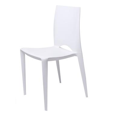 BEE Chaise extérieur / intérieur blanche