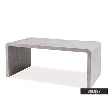 VOSTRA Table basse béton 100 x 60 cm