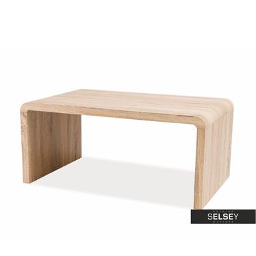 VOSTRA Table basse effet chêne 100 x 60 cm