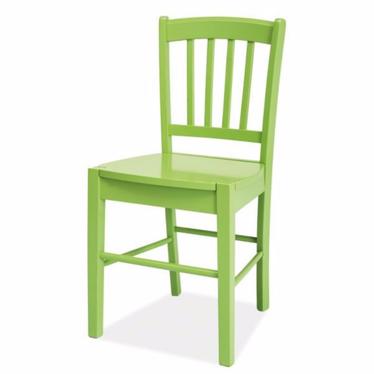 BERGEN Chaise en bois vert