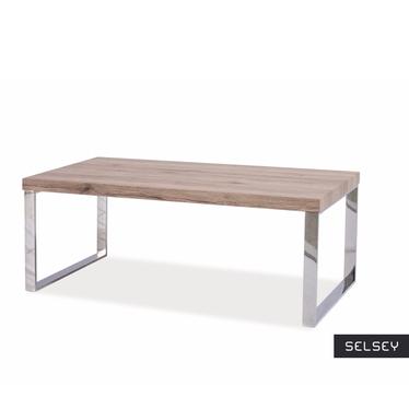VICENZA Table basse pieds métal