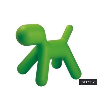 Chaise enfant Chien vert
