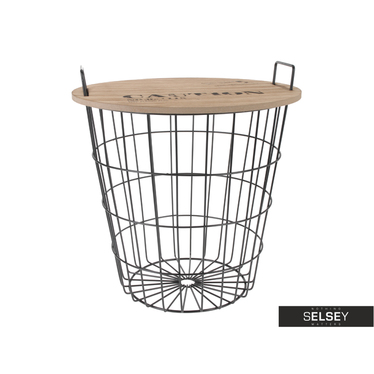 BASKET Table d'appoint panier