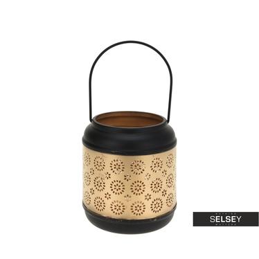Lanterne métallique glamour 14 cm