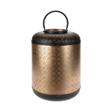 Lanterne métallique glamour 42 cm