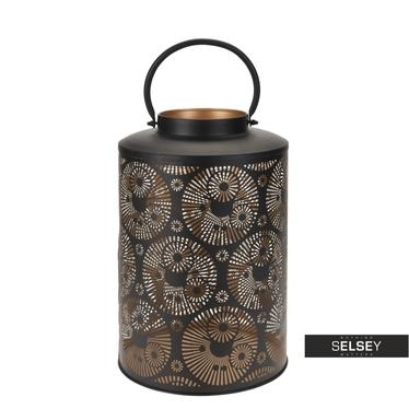 Lanterne métallique glamour 38 cm