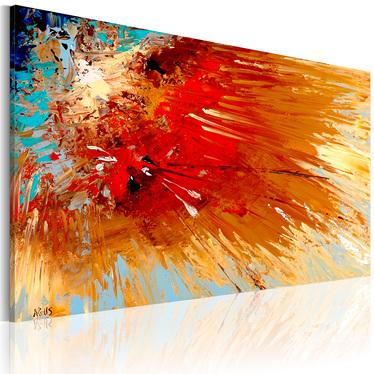 EXPLOSION tableau peinture