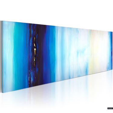 SHADES OF BLUE tableau peinture