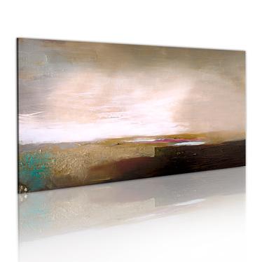 APRÈS UN ORAGE tableau peinture
