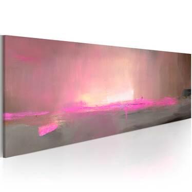 LUMIÈRE ROSE tableau peinture