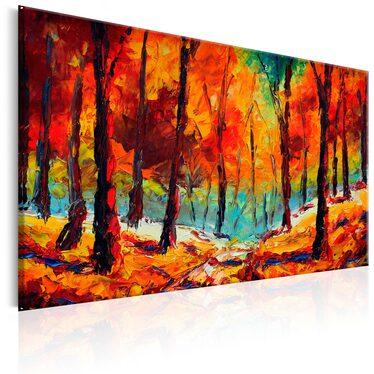 AUTOMNE ARTISTIQUE tableau peinture