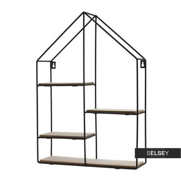 MAISONNETTE Petite étagère style industriel 35x50 cm
