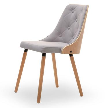 MAGNUM Chaise en bois hêtre / gris