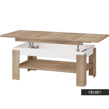 BOSTON Table basse 120-160 x 68 cm
