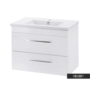 ATTIVO Meuble sous lavabo blanc 60 cm
