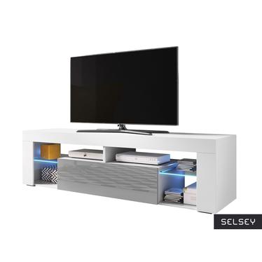 HUGO II Meuble TV 160 cm style moderne