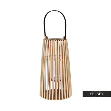 Lanterne en osier 48 cm
