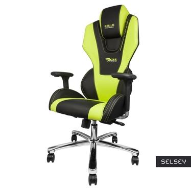 E-BLUE MAZER Chaise gamer noir / vert