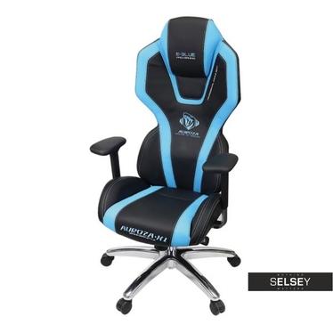 E-BLUE AUROSE Fauteuil gamer noir / bleu
