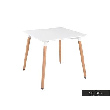DORA Table scandinave 80x80 cm