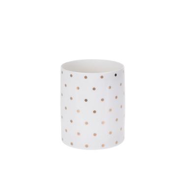 DOTS Photophore bougies chauffe-plat 10 cm