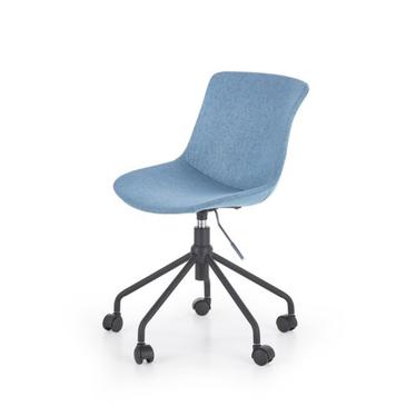 BRUNO Chaise de bureau bleue