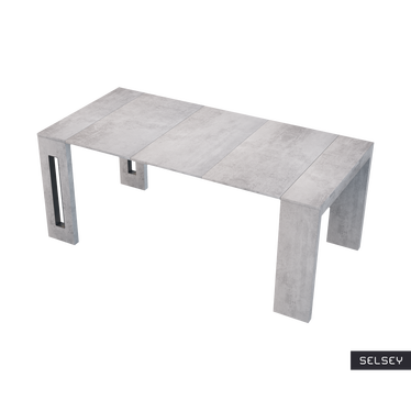 ROMA Table extensible italienne béton