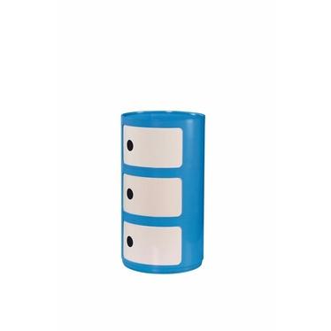 ROLL Caisson de bureau bleu
